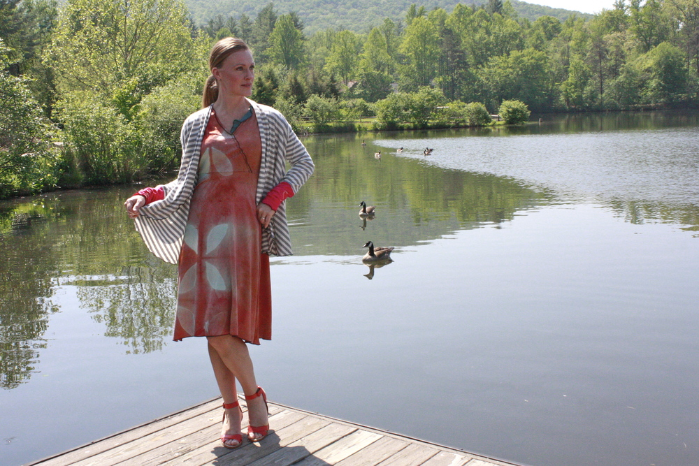 Gelato Dress & Cicada Cardigan, North Carolina.