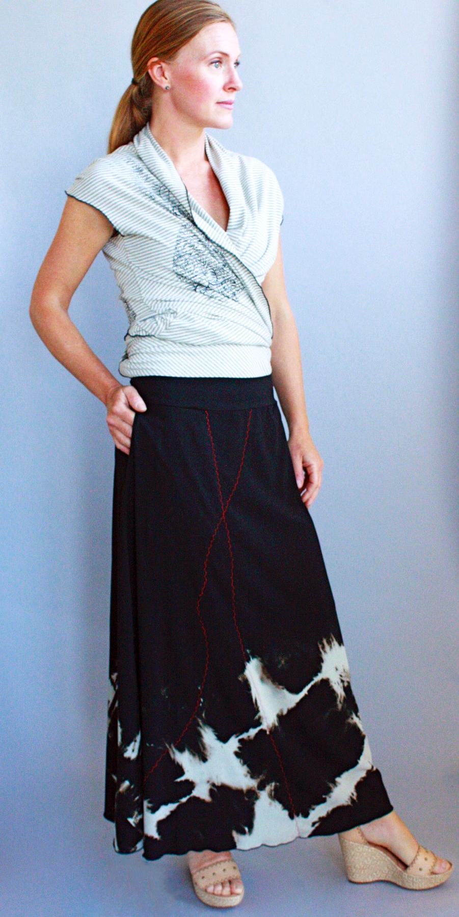 Luna Cardigan & Beeline Skirt.