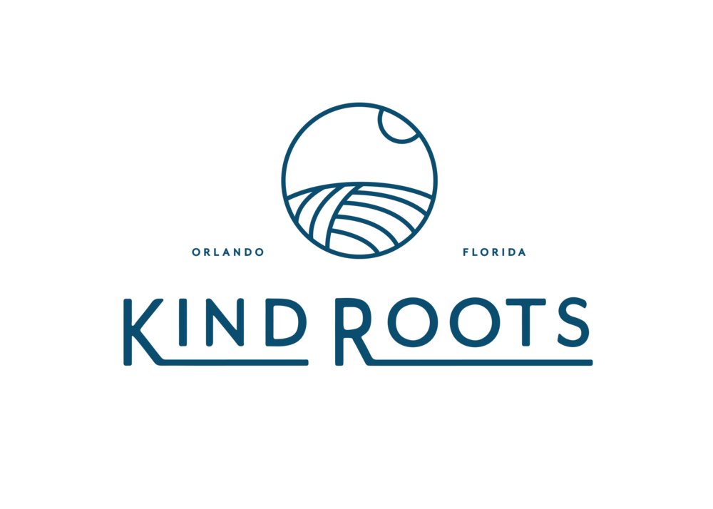 Design by Good South / Kind Roots Logo Design