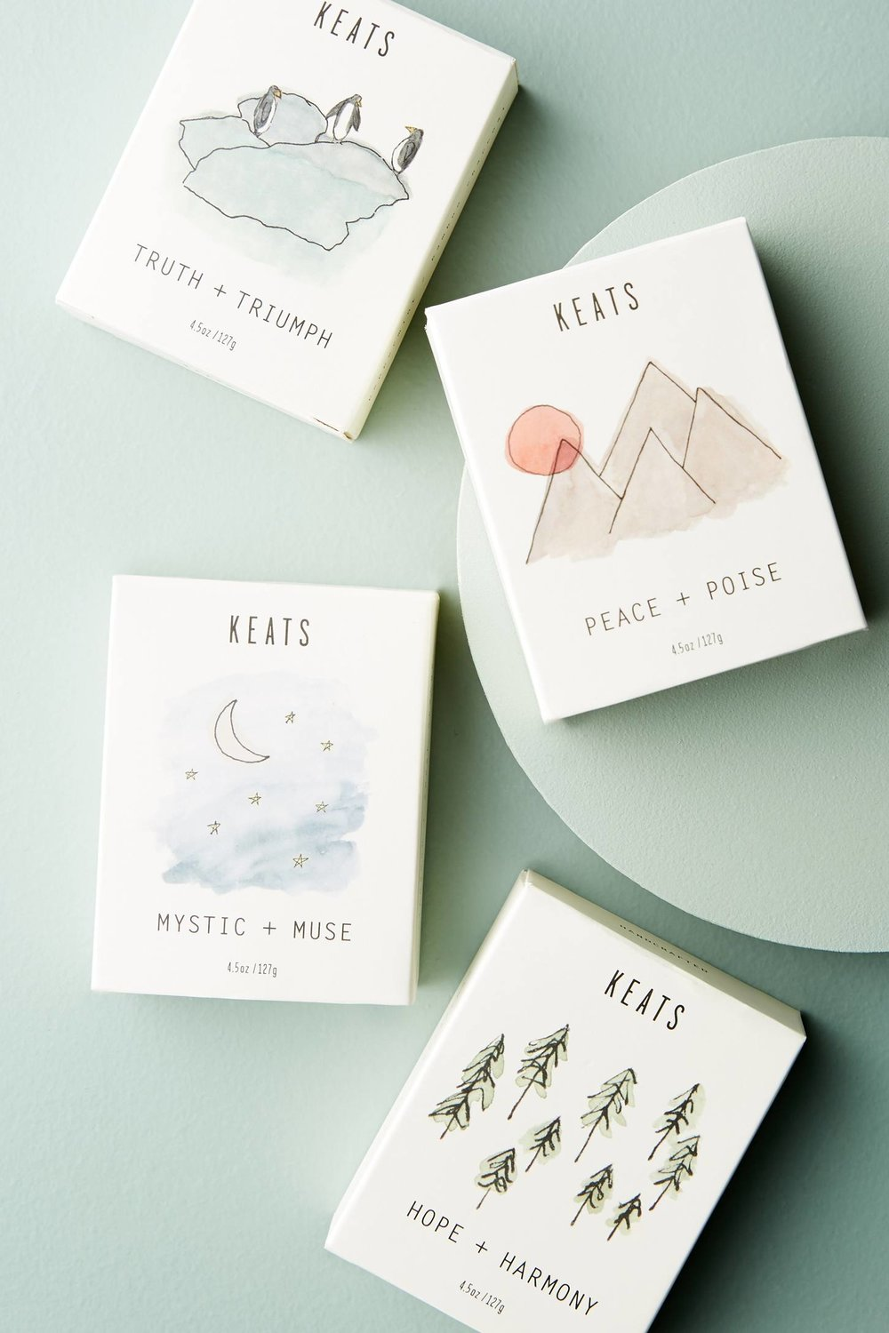 Package Design for KEATS by Good South