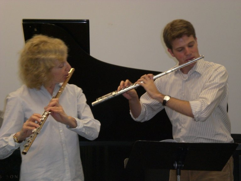 Lesson with Paula Robison (2007)