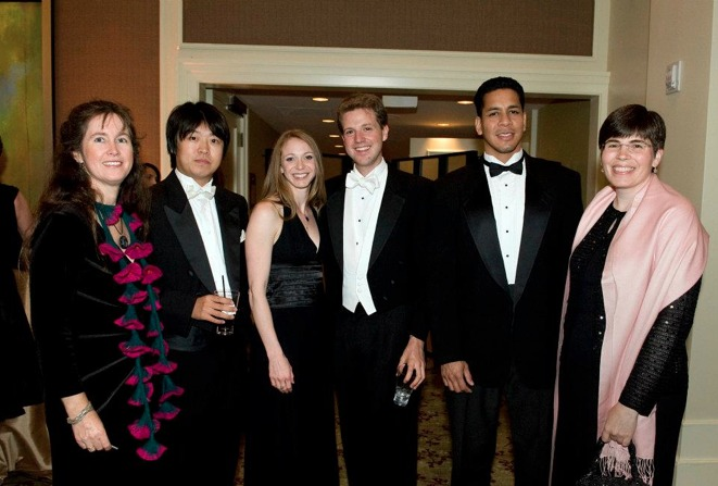 With Pacific Symphony Musicians on Opening Night 2011!