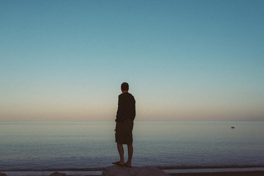 gaspesie-quebec-canada-percé-océan-pêcheur-bâteau-coucher-de-soleil-sunset
