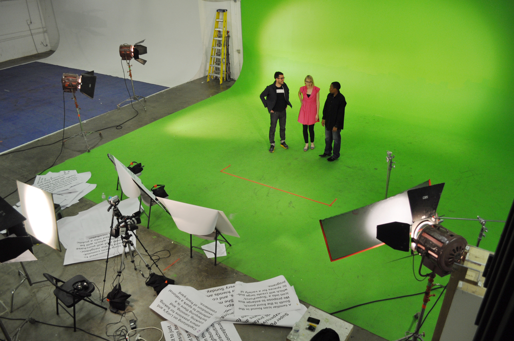 Back in Los Angeles, the team makes a concept video for the final client presentation.