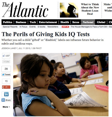 The Perils Of Giving Kids Iq Tests >> Education Coming Of Age In The Middle Jessica Lahey