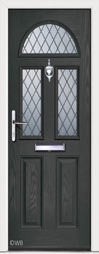 Chilton 3 Anthracite Grey Diamond Lead