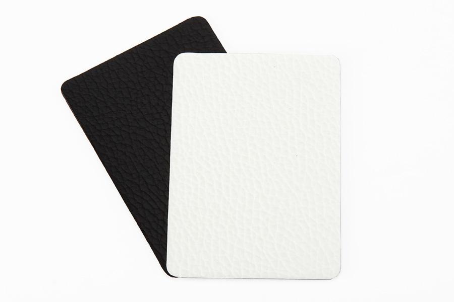 Black or White Premium Leather
