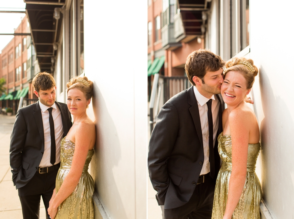 Armory Square | Syracuse wedding portrait