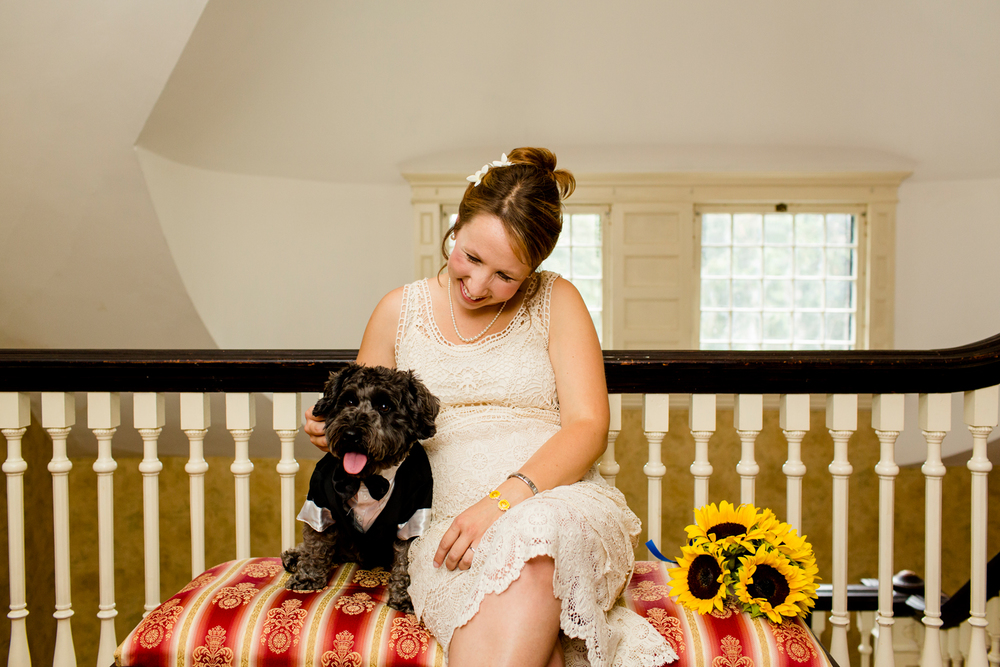 Brewster Inn wedding