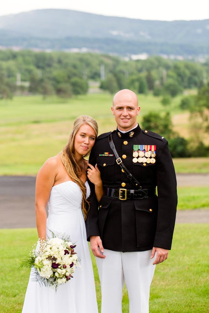 Marine groom