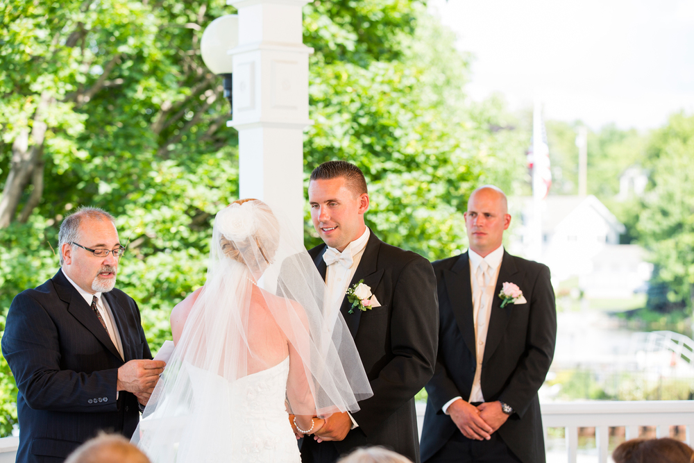 Wedding under the Gazebo | Sackets Harbor, NY