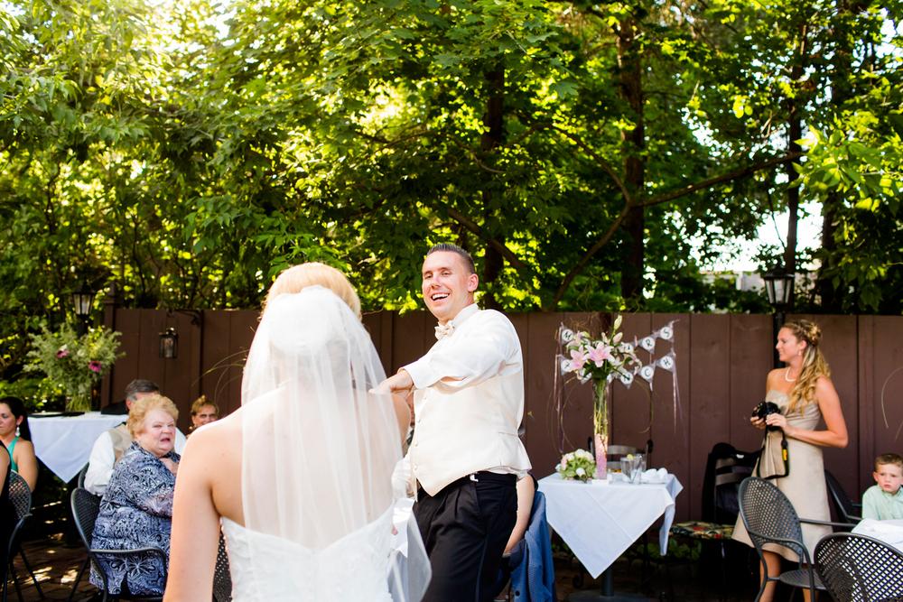 Tin Pan Galley wedding reception
