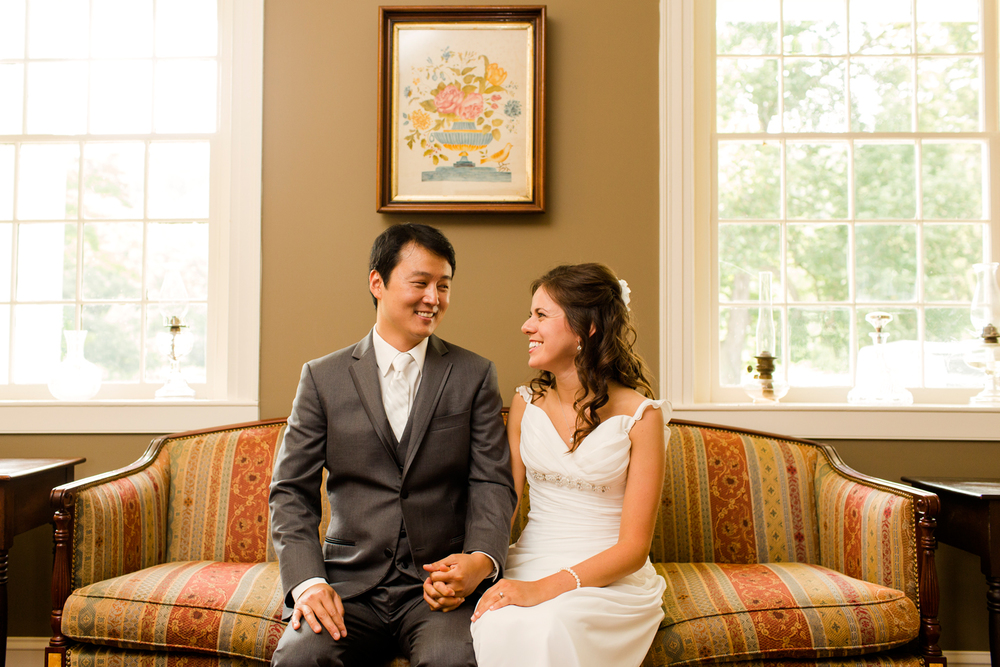 Fontainebleau Inn wedding portraits