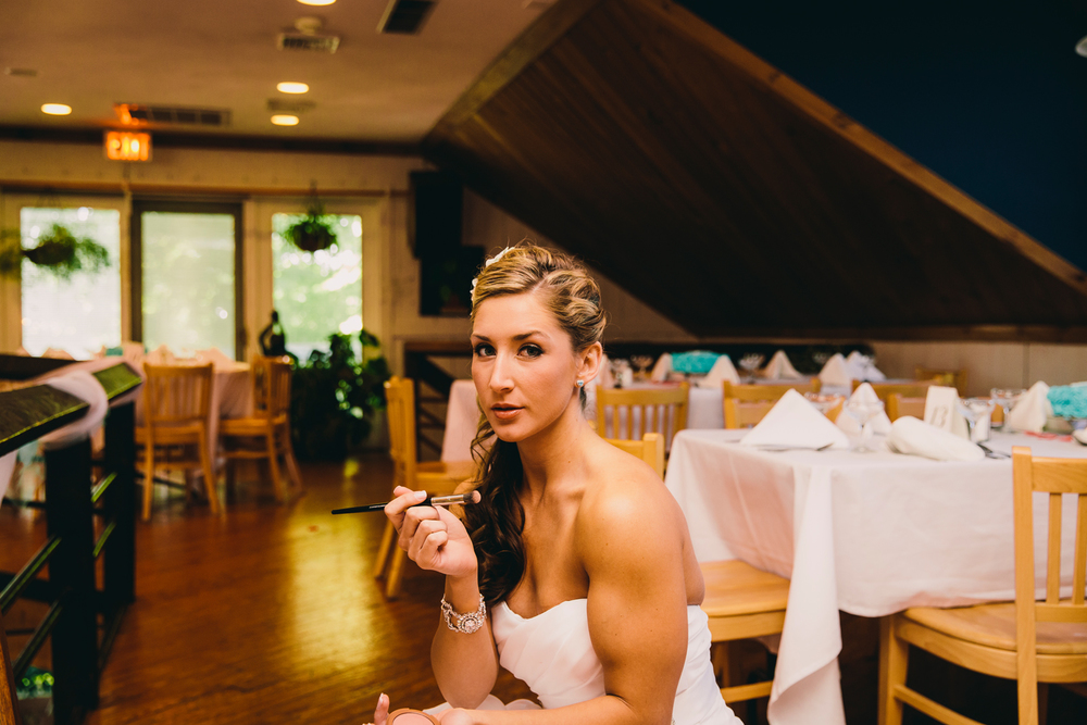 Arena's Eis House Restaurant wedding