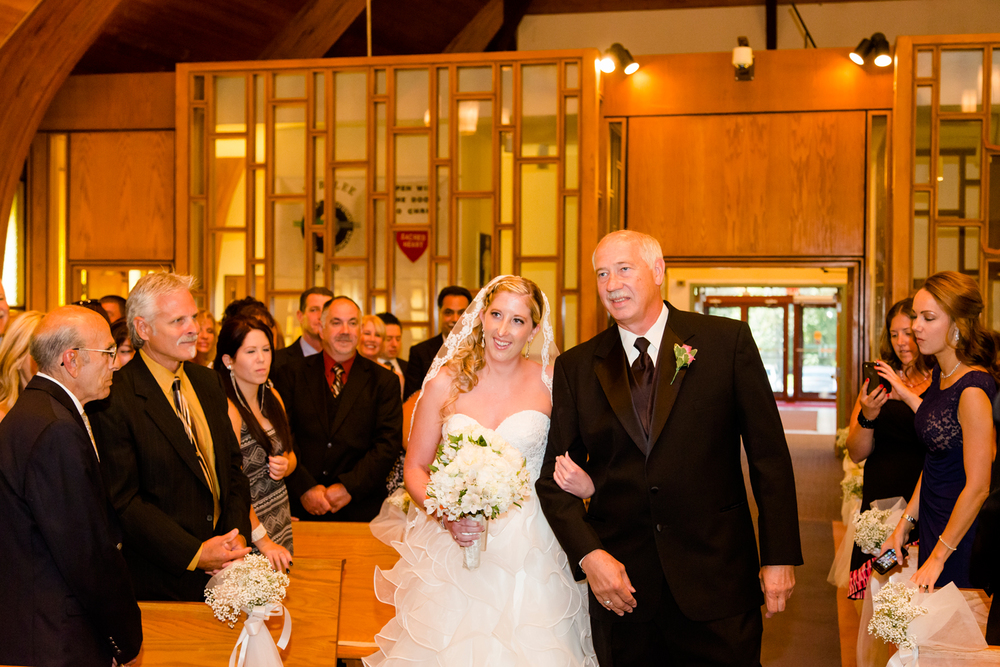 Sacred Heart Church wedding