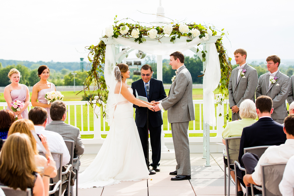 Vernon Downs Casino wedding ceremony