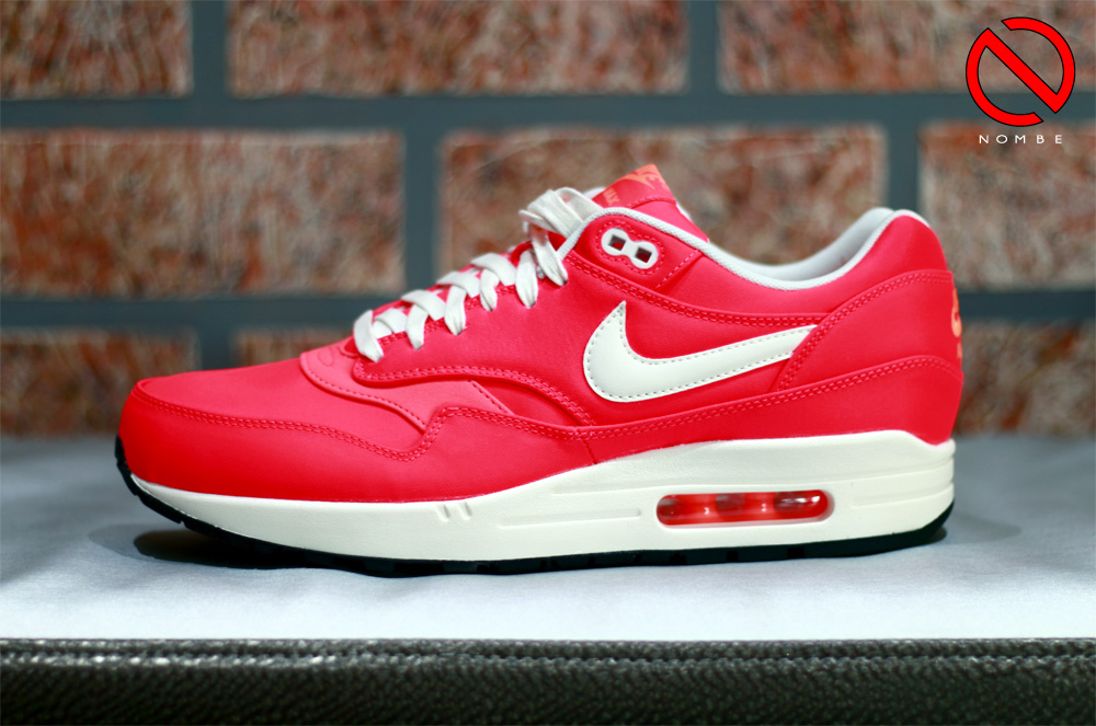 Nike Air Max 1    Color: Hyper Punch/Ivory-Total Orange    Style Code: 665873 600    Price:   $125     Release Date: June 12, 2014