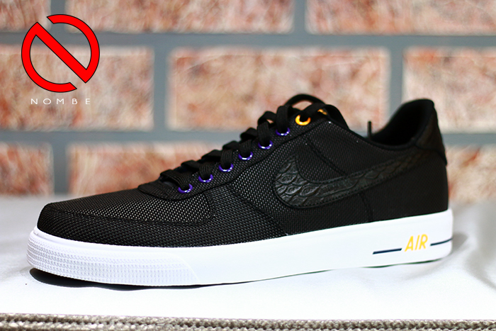 Air Force 1 AC Premium- Los Angeles   656523-001   Black/Black   $80