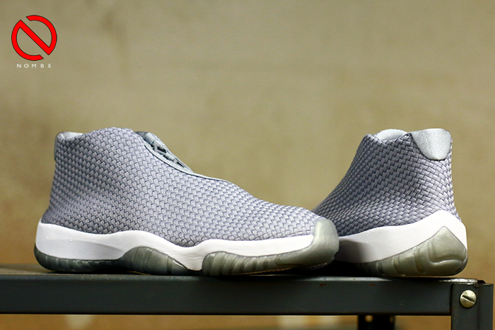 Air Jordan Future     Color:  Wolf Grey/Wolf Grey-White   Style:  656503-004   Price:  $150  Release: 07/02