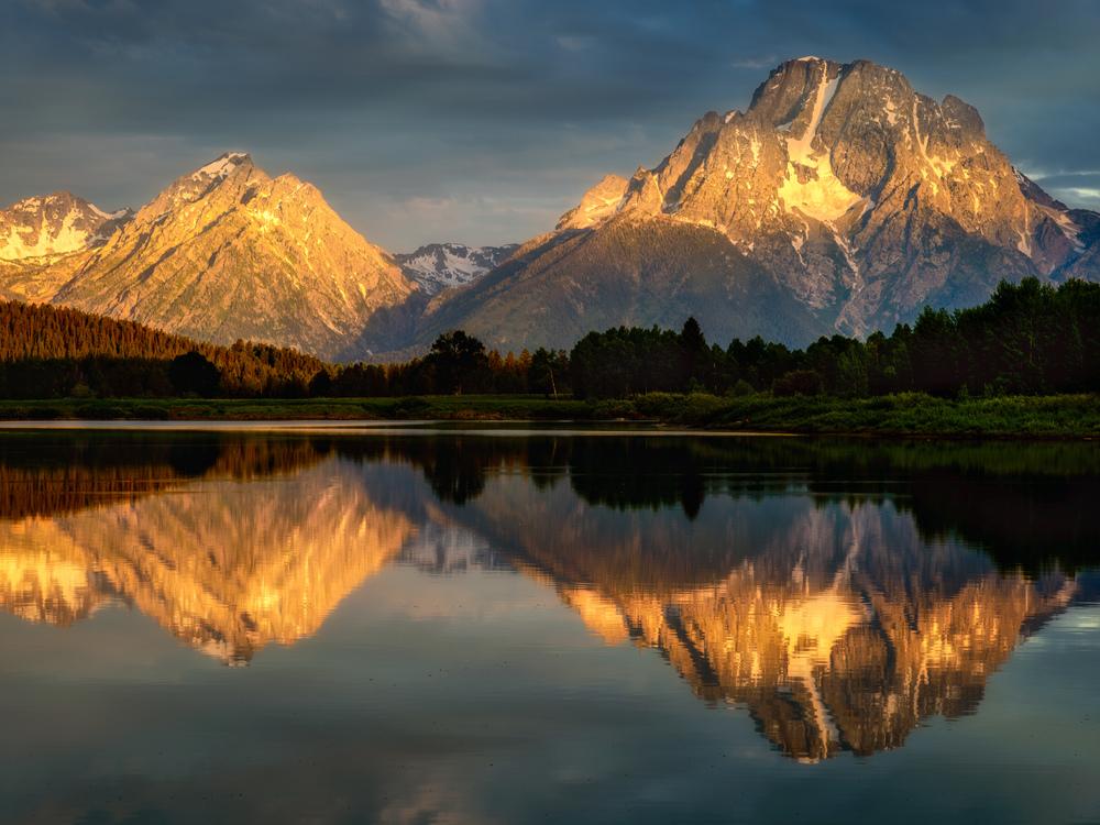 Moran reflected