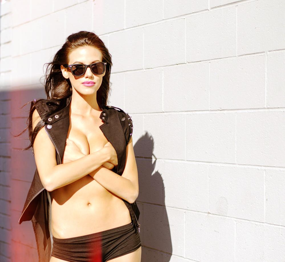 Model:  Pamela Moses