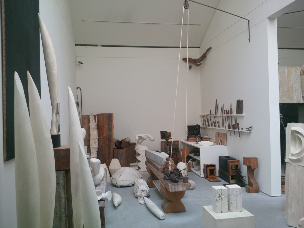 Brancusi's Atelier at Le Centre Pompidou, where I had my Bespoke epiphany...