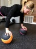 Add medicine balls or weights in each hand!