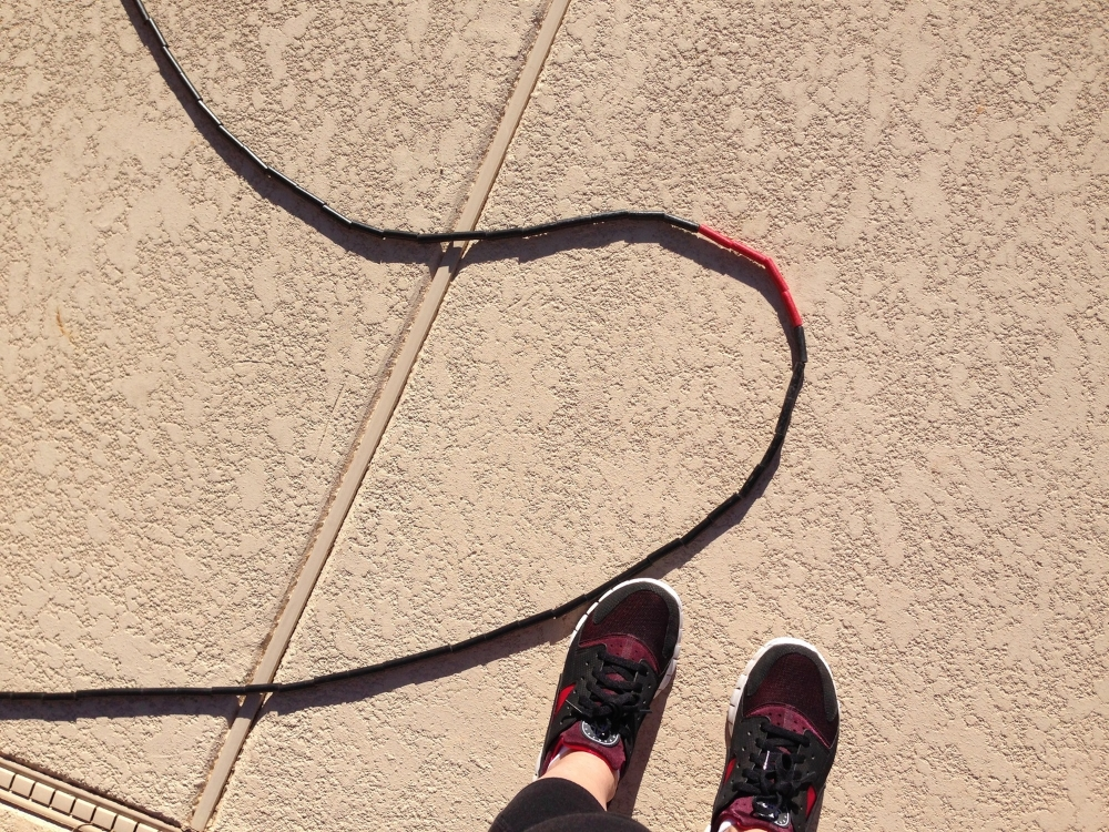 I love jumping rope for speed!