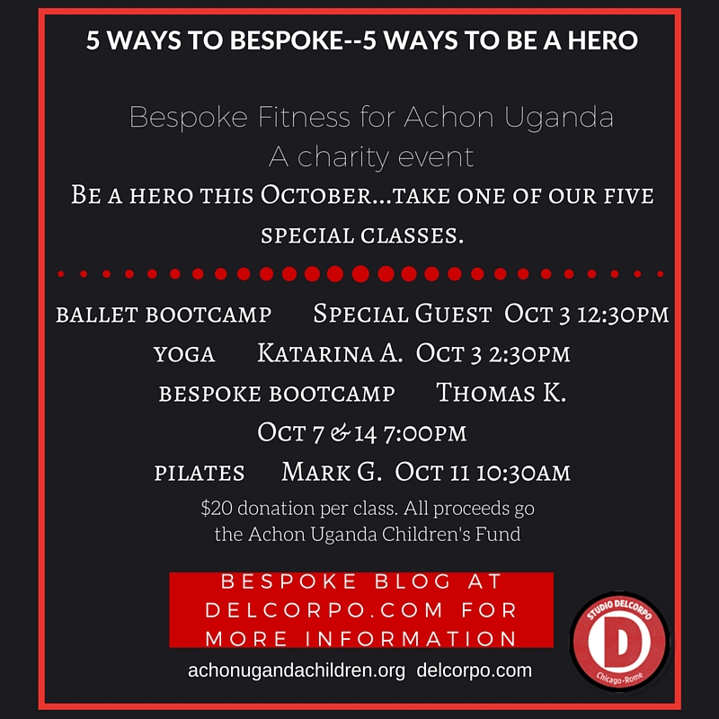 BE A HERO:  JOIN US FOR AN AMAZING WORKOUT FOR AN AMAZING CAUSE
