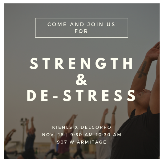 Bespoke your self-care with this great workout and some samples from Kiehls!