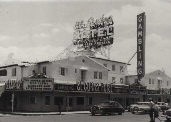 El Cortez in the 1950s