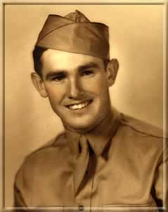 Jackie Gaughan as airman in the Air Force