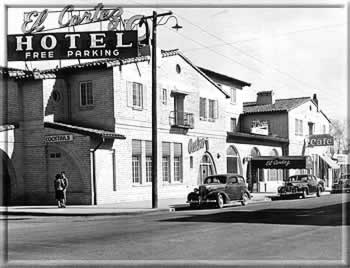 El Cortez in the 1940s