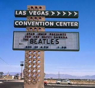 Las Vegas Covention Center Marquee -Courtesy of Las Vegas News Bureau