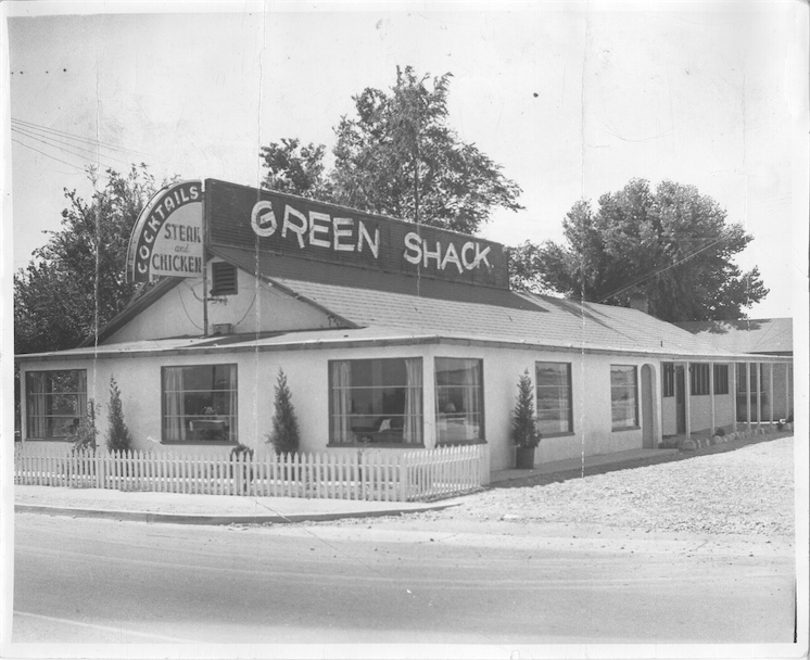 The Green Shack as many of us remember it.