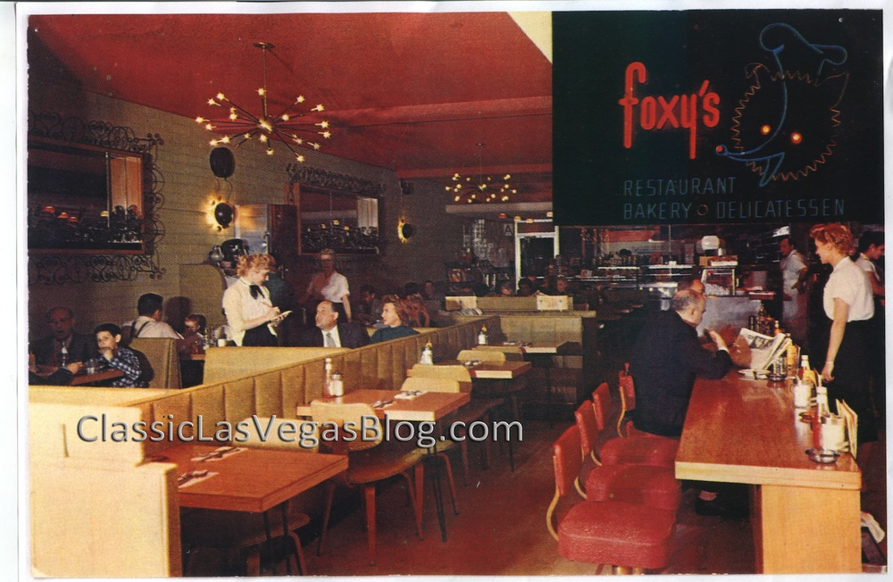 Foxy's courtesy of Abe Fox and As We Knew It