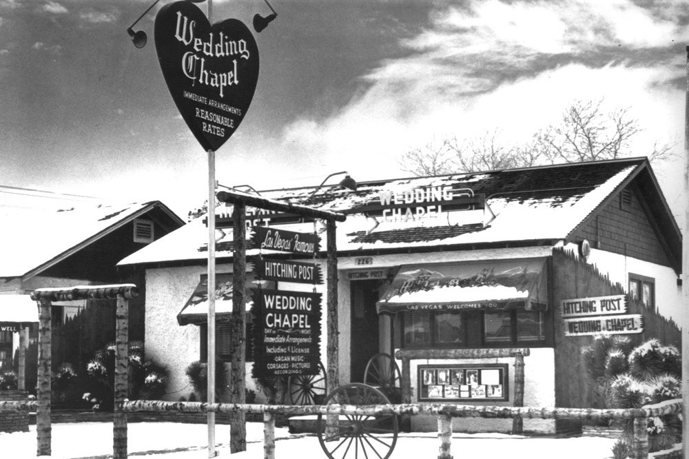 Hitching Post Wedding Chapel 1930s
