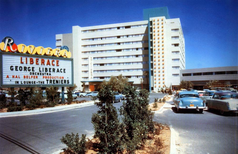 Riviera Hotel 1950s