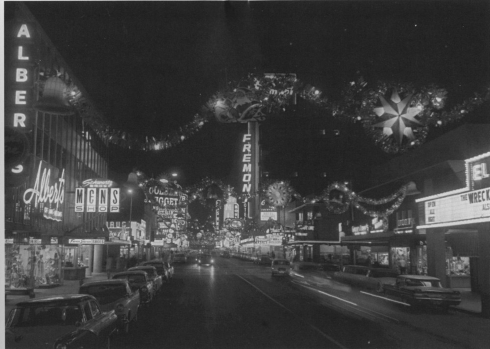 Fremont Street Christmas 1959