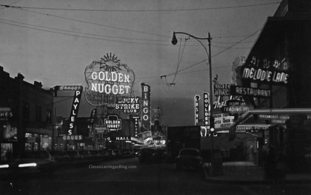 Fremont Street 1950s