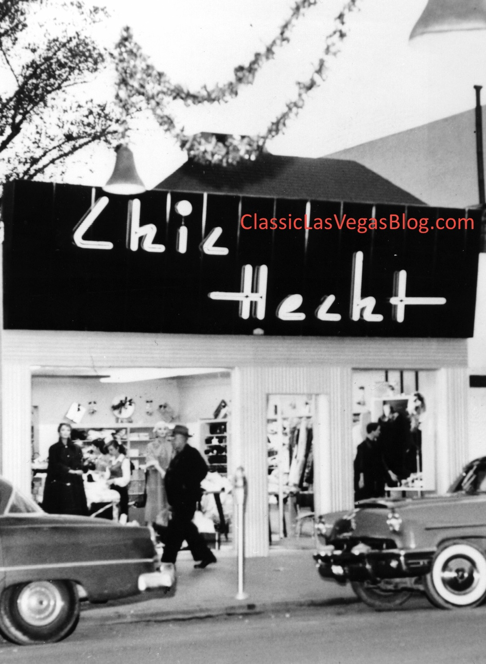 Chic Hecht Women's Store courtesy of UNLV's Special Collections