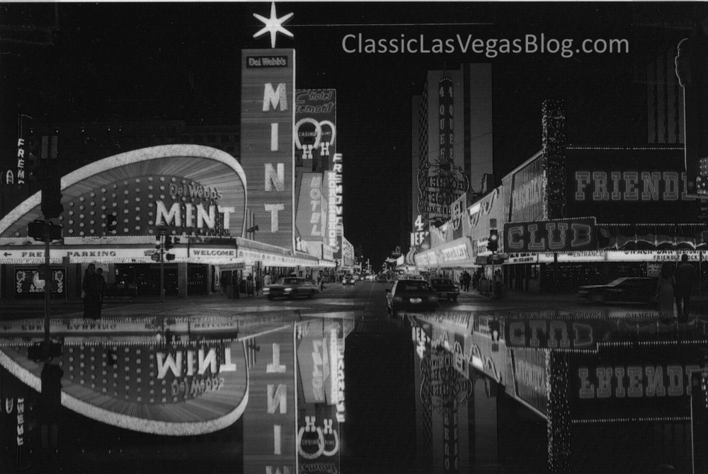 Fremont Street, courtesy of the Nevada State Museum, Las Vegas