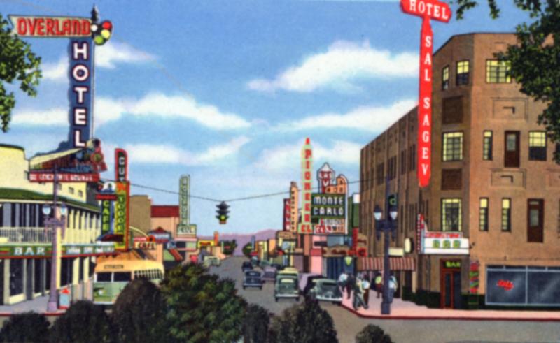 Fremont Street, 1940s