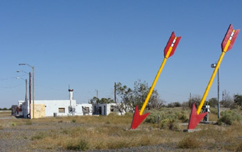 Twin Arrows Trading Post, old route 66