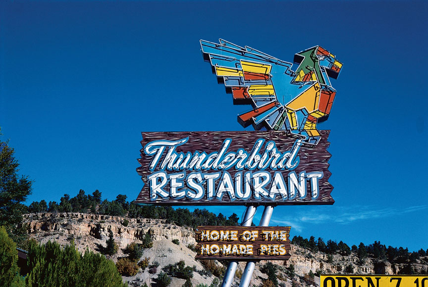 Thunderbird Restaurant Home of the Ho-made pies