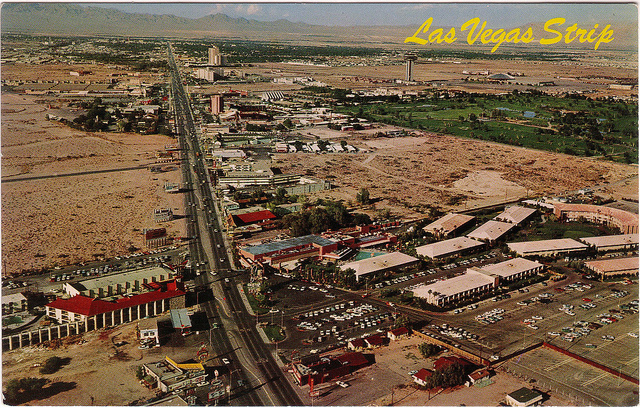 A smaller Las Vegas Strip