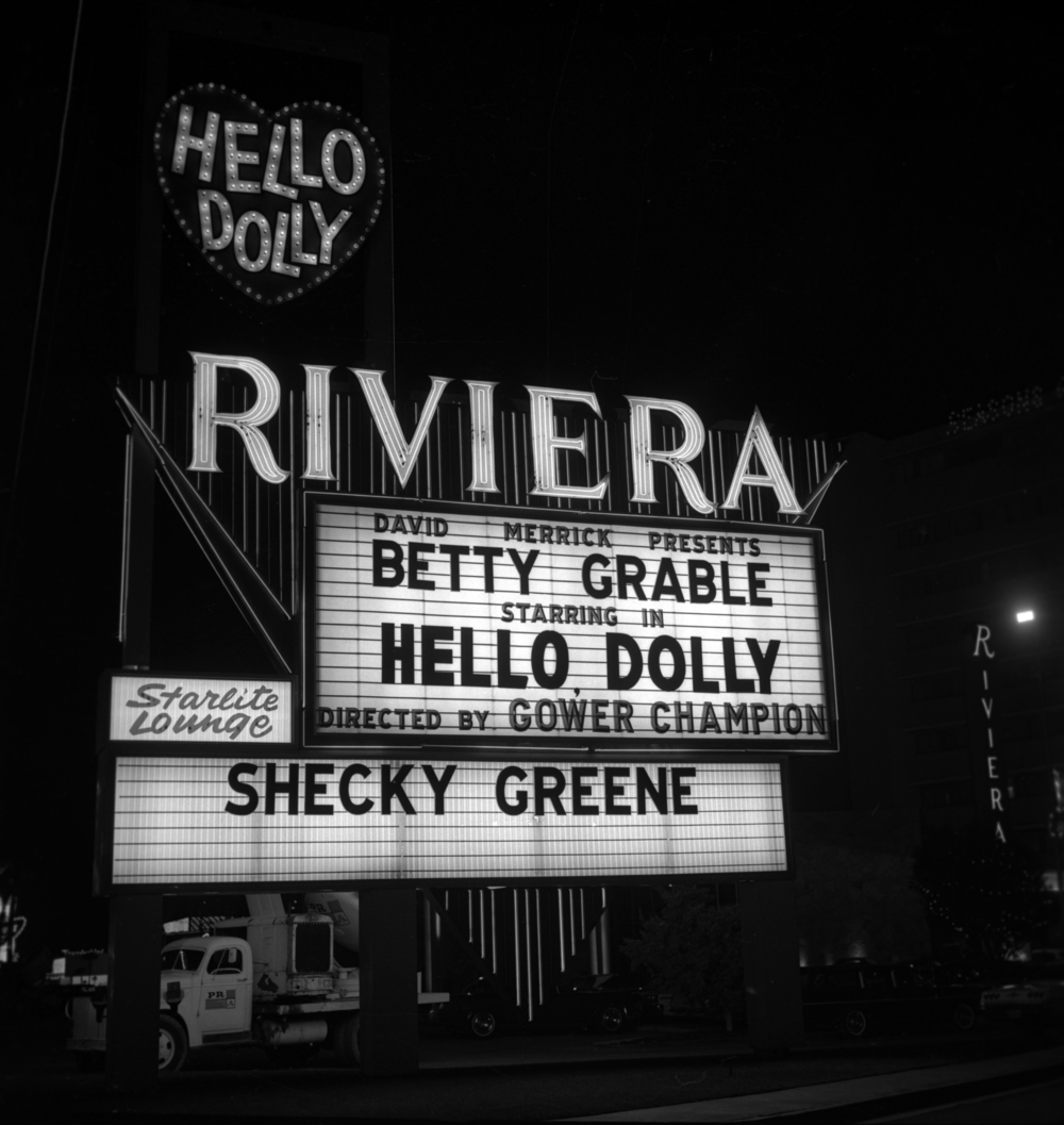 The Riviera marquee