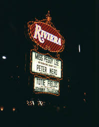 Riviera sign Marge Williams