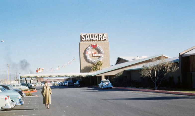 The original Sahara sign decked out