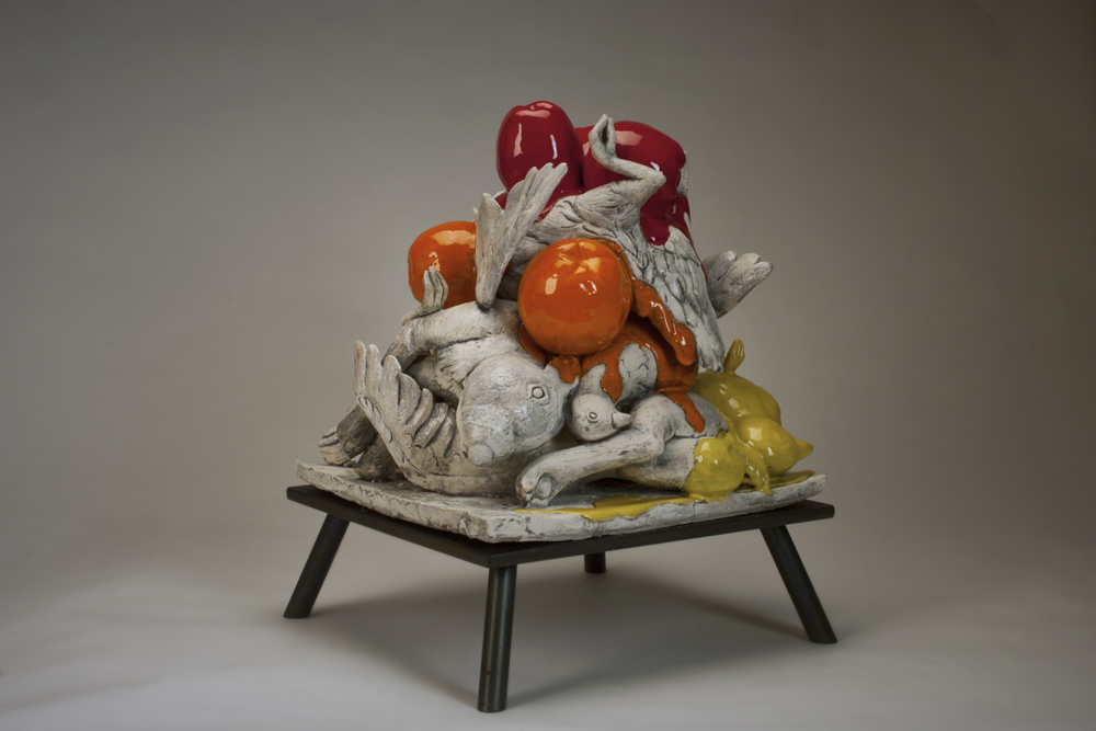 Client: Monica Van Den Dool at http://www.monicavandendool.com/                                                                                                         Details: Still Life. Glazed Ceramic. 2011
